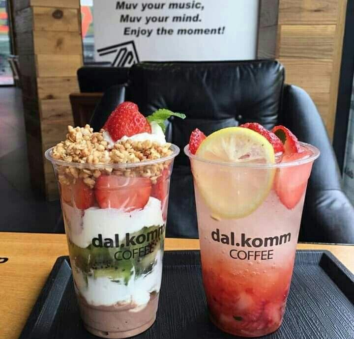 Dal Komm Coffee Is My Dream Koreaislife Food Cafe Food Fair Food Recipes