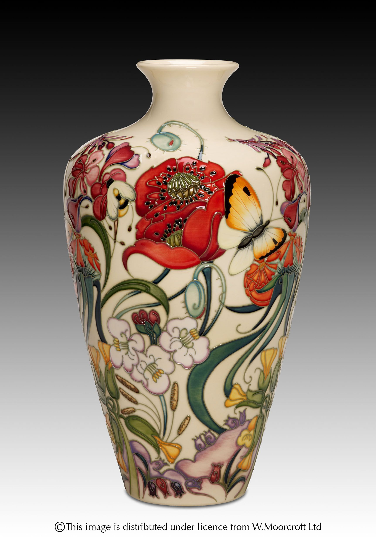 Moorcraft Pottery A Family Through Flowers Designer