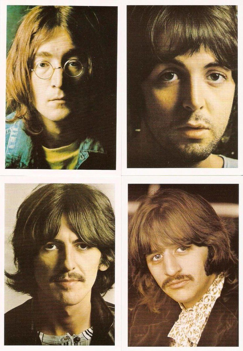 The #Beatles, The White Album - Fab Four Art- See ArtMythicaShop ...