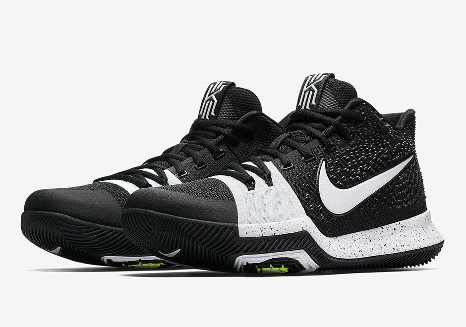 uk availability 006d9 744cd Nike Kyrie Irving 3 Tuxedo - 917724-001 | Nike Shoes | White ...
