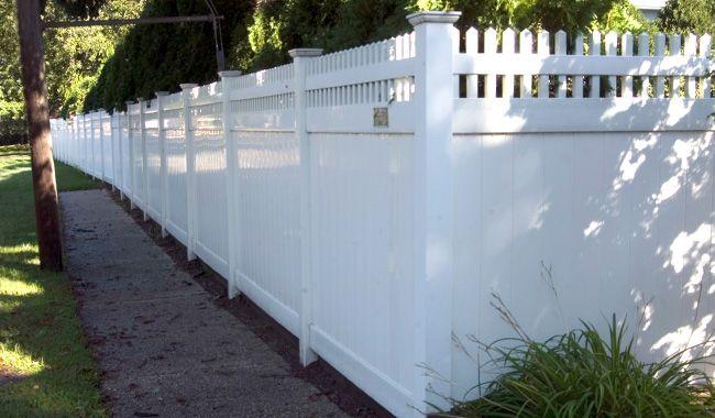 Pvc Fences Walt Whitman Fence Company Long Island Ny Outdoor Decor Fence Fencing Companies
