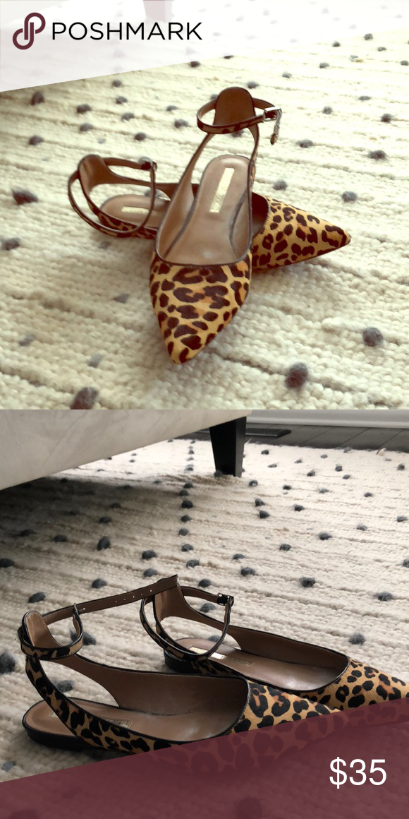316e6cd50ed5 Audrey Brooke Leopard Flats Worn 2x. Audrey Brooke Flats Audrey Brooke Shoes  Flats & Loafers