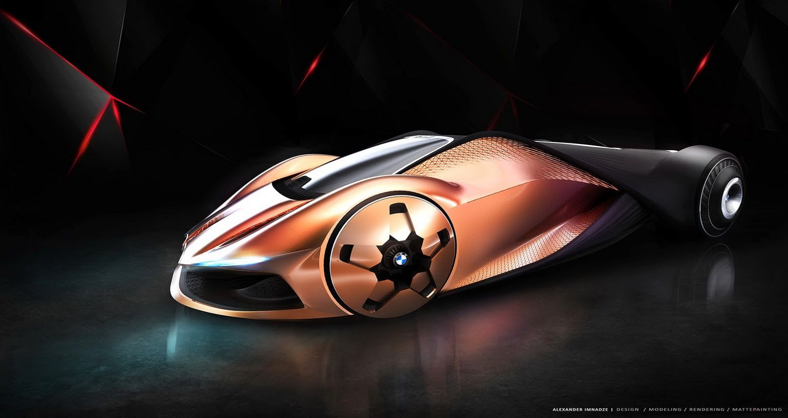 This Bmw M1 Shark Concept Study Come From The Year 2080 Carscoops Bmw M1 Concept Car Design Bmw