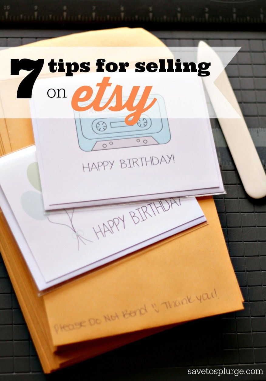 Tips For Selling On Etsy Etsy Seller Etsy And Shopping