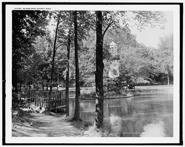 Palmer Park, Detroit, Mich., between 1910 and 1920