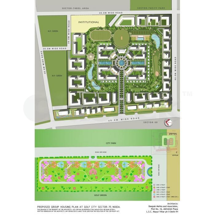 Gardenia Golf City With Navratre S Luxury Offer Greater Noida Claseek India Crystals In The Home Green Architect Apartments For Sale