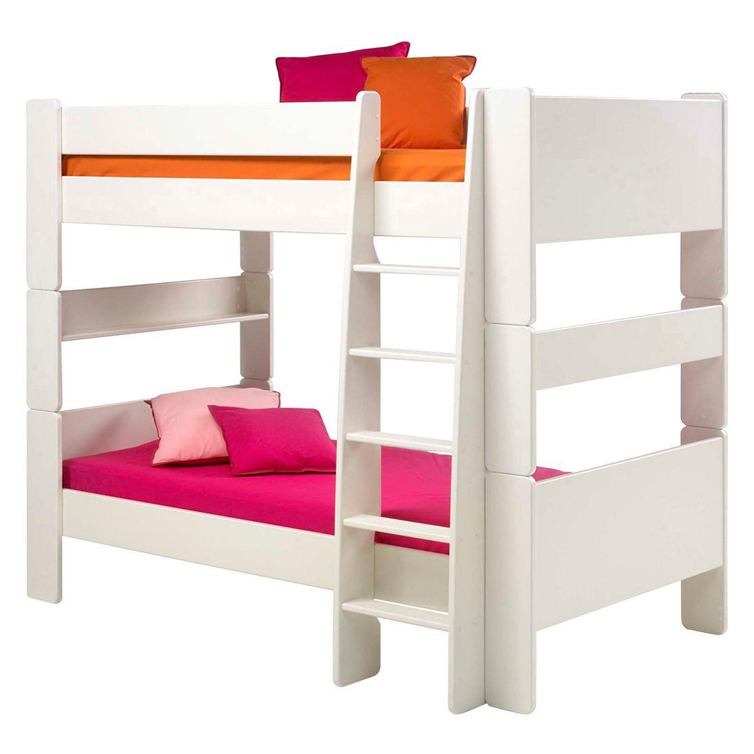 Steens Möbel etagenbett steens for mdf weiß steens jetzt bestellen unter