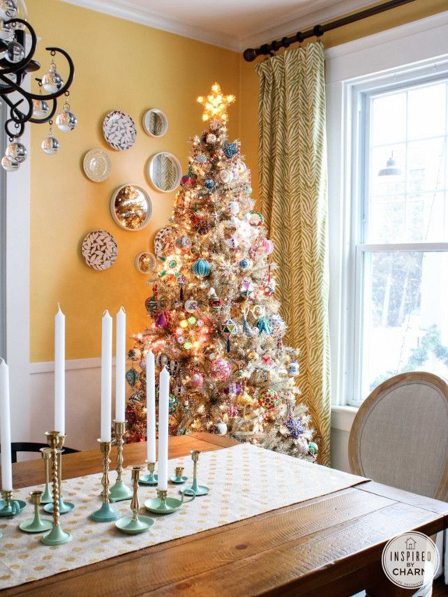 Interior Design Ideas Christmas Decorating Ideas - Home Bunch - An