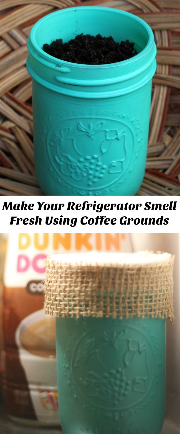How To Make Your Refrigerator Smell Fresh Using Coffee Grounds ...