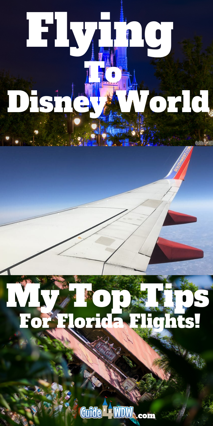 Flying to Disney World – My Top Tips – Guide4WDW.com