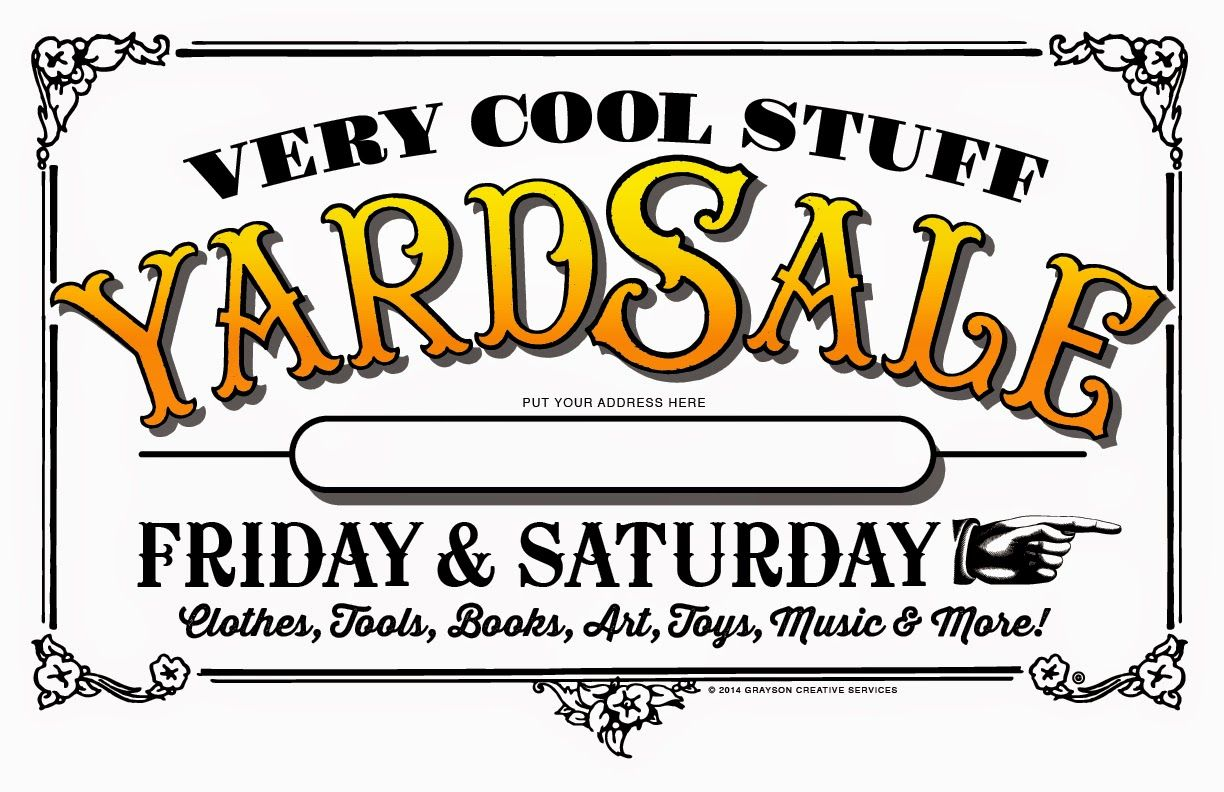 small resolution of garage sale signs yard sale signs for sale sign garage sale organization