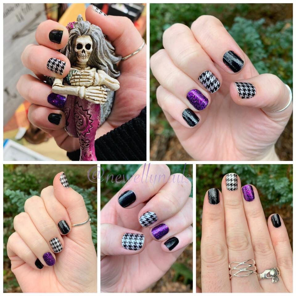 Diy Halloween Manicure Color Street Nails Nail Color Combos Halloween Nail Colors