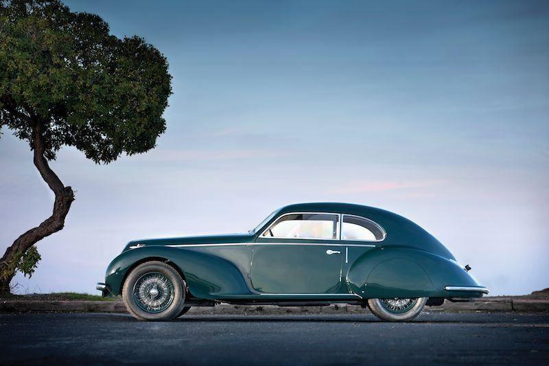Carversed 1939 Alfa Romeo 6c 2500 Sport Berlinetta Alfa