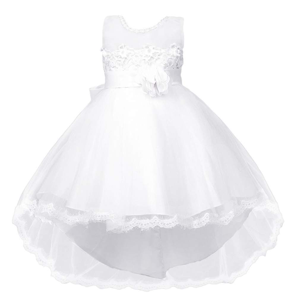 Wedding Dress For Your Little Girl Age 4 10 Years Old Material