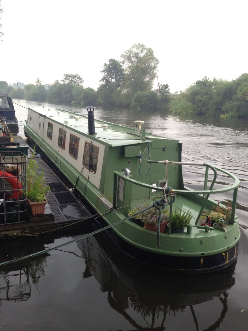 57 foot narrow boat