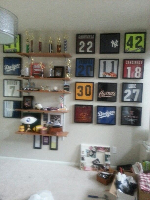 Trophy Room Design Ideas: How I'm Making A Trophy Room For My Boys!
