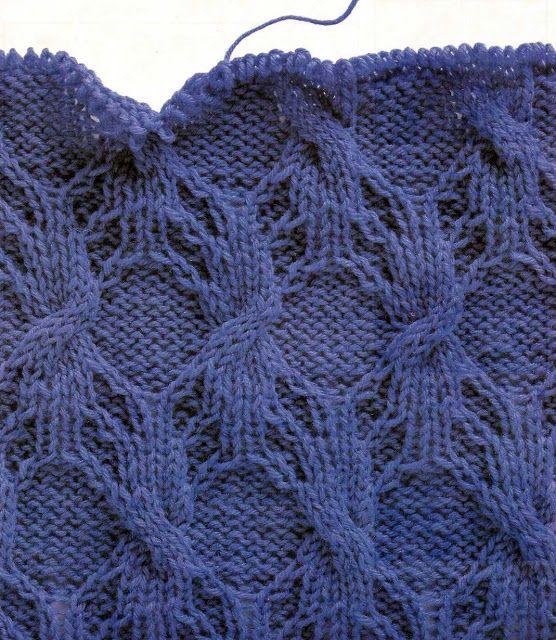 Patrón #1068: Tela de Araña en Dos Agujas | CTejidas [Crochet y Dos ...