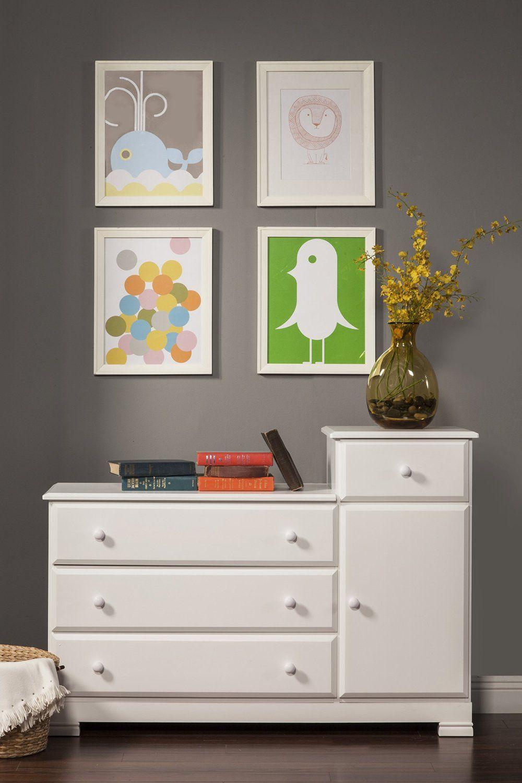 Best Amazon Com Davinci Kalani Combo Dresser White 400 x 300