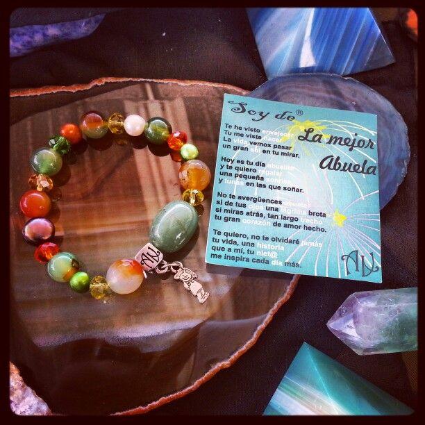 Cuanto quieres a tu abuelita?....#ArtAbalori te trae el #Regalo perfecto #minerales #moda #joyas