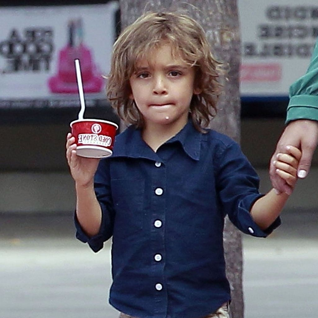 Langes Haar Kleiner Junge Haarschnitte Lange Haare Little Boy