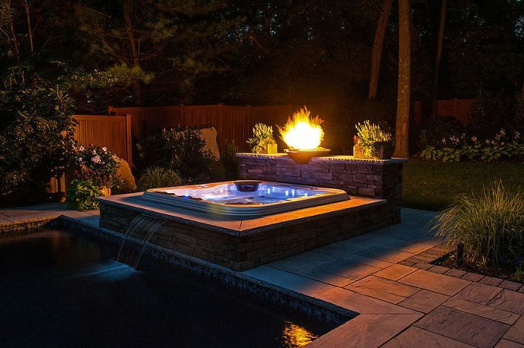 20 Of The Most Stunning Home Hot Tubs Hot Tub Backyard Hot Tub Landscaping Hot Tub Deck