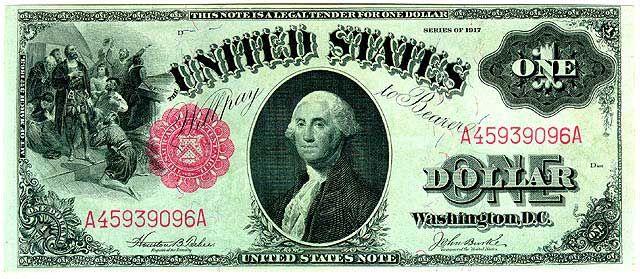 first dollar bill ever made