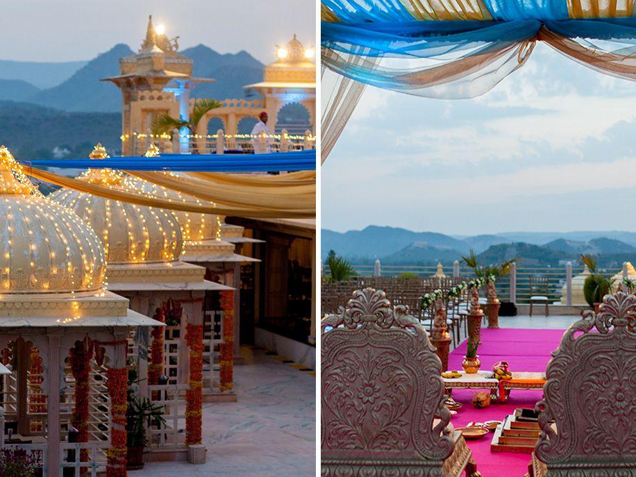 Swati and Jake Destination wedding, Udaipur, Outdoor wedding