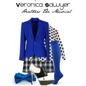 A great Veronica Sawyer costume! heathers musical theatre halloween  costume samuelfrench