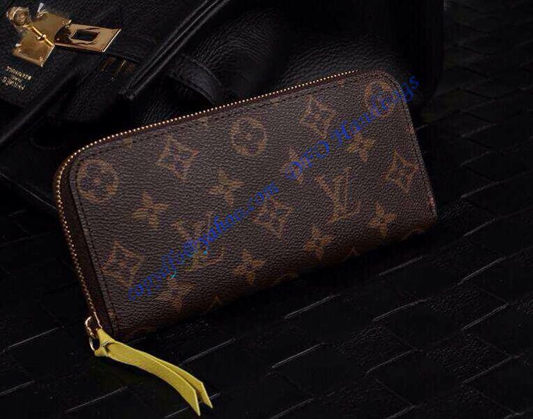 cheaper 6cdf5 cecc8 Louis Vuitton Monogram Canvas Clemence Wallet Mimosa M60744 ...