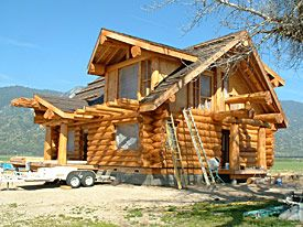 about us pioneer log homes british columbia canada. Black Bedroom Furniture Sets. Home Design Ideas