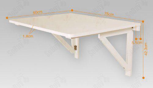 mesa cocina madera plegable - Buscar con Google   Habitación ...