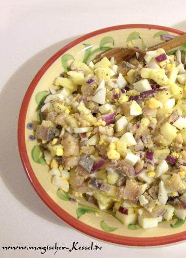 Recipe for Häckerle – fresh matjes salad