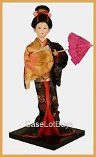 (1) ORIENTAL JAPANESE / CHINESE BEAUTIFUL GEISHA DOLL W/STAND #5