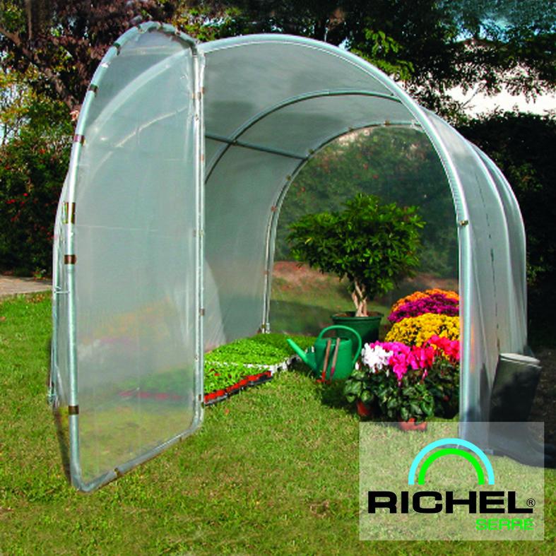serre de jardin richel 9m2 avec porte lekingstore. Black Bedroom Furniture Sets. Home Design Ideas