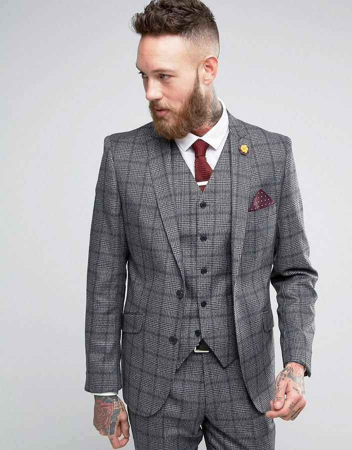 70139a471 Gianni Feraud Heritage Premium Wool Check Suit Jacket | Products ...