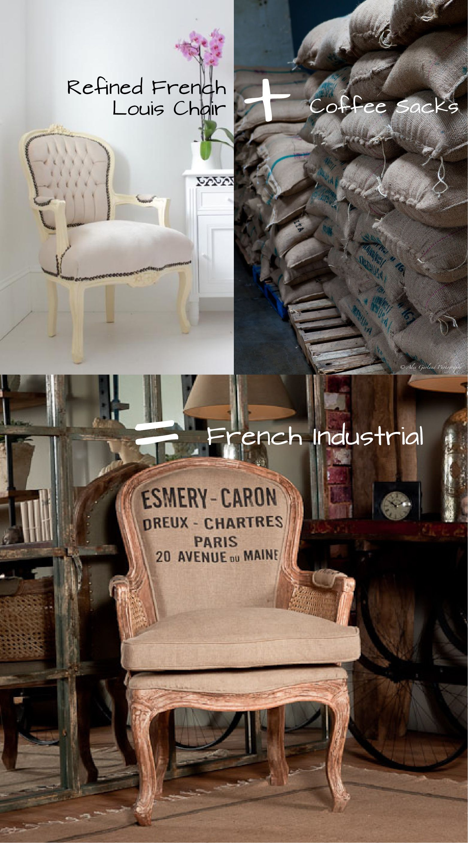 Key Look #1 – French Industrial #frenchindustrial