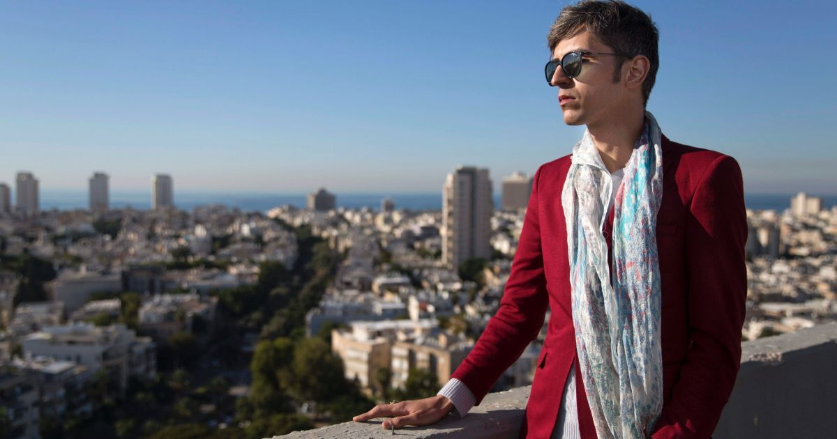 Iranian Gay Poet Visits Israel - a 'Dream Come True'  After months of bureaucracy, Payam Feili, 30, was granted a three-month visa to Israel; he hopes to stay in the country permanently on humanitarian grounds.
