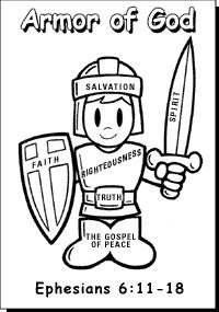 Ordinaire Armor Of God Coloring Pages | Bible Printables: Coloring Pages For Sunday  School   Christianity Cove | Vbs | Pinterest | Sunday School, Christianity  And ...