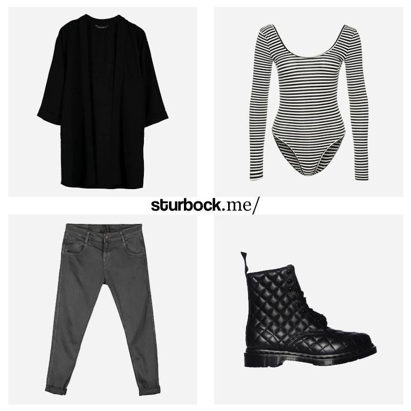 Einfach mit Streifen und Steppmuster. Hier entdecken und shoppen: http://sturbock.me/NGs
