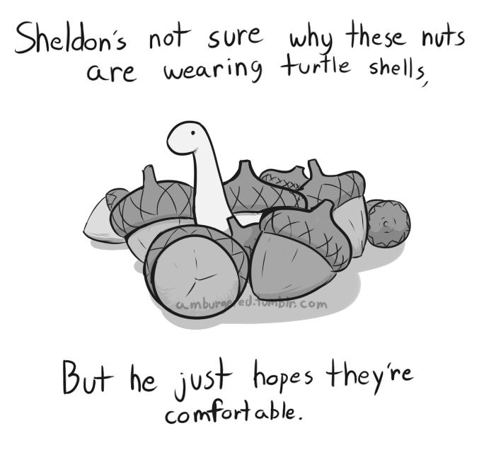 COMIC: Sheldon the Tiny Dinosaur Who Thinks He's a Turtle