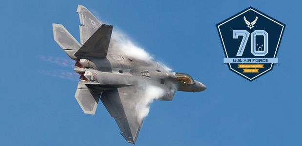 One of the world's most advanced fighter jets will be making a welcome return to the Royal International Air Tattoo this summer as part of celebrations marking the 70th anniversary of the US Air Force.     Lockheed Martin's F-22 Raptor is the latest aircraft to be confirmed for this summer's Air Tattoo, which takes place at RAF Fairford on July 14-16.
