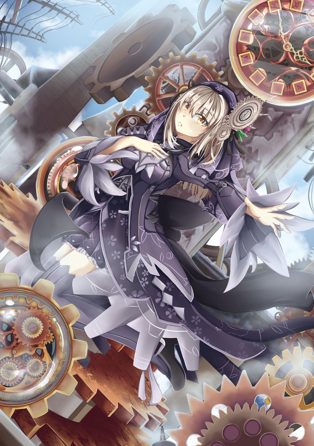Ryuzu Clockwork art. By D_faction Anime