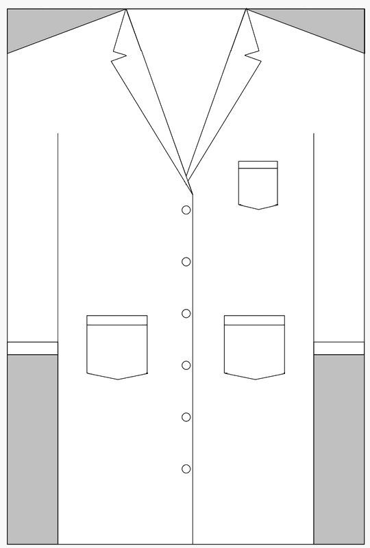 Lab Coat Sketches Patterns Templates Doctor Coat Lab Coat Coat