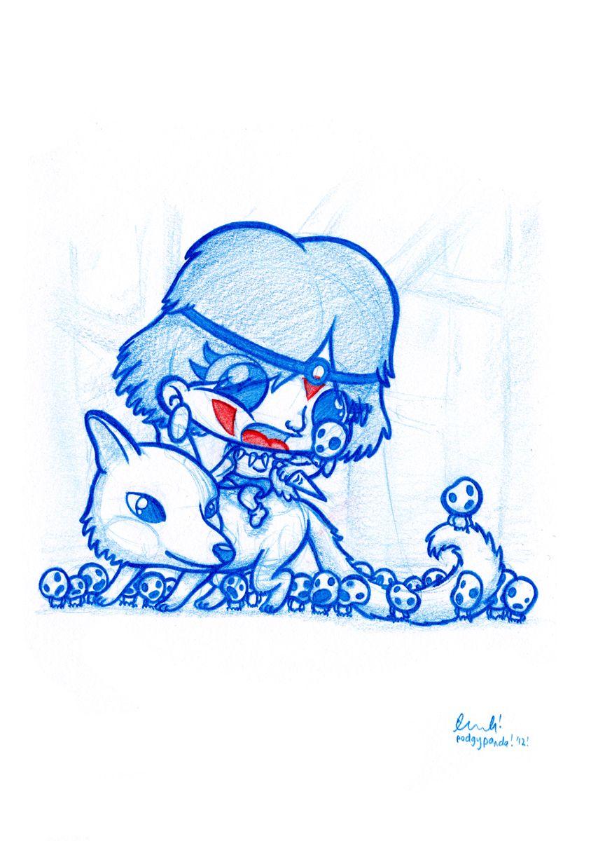 Princess Mononoke by PodgyPanda