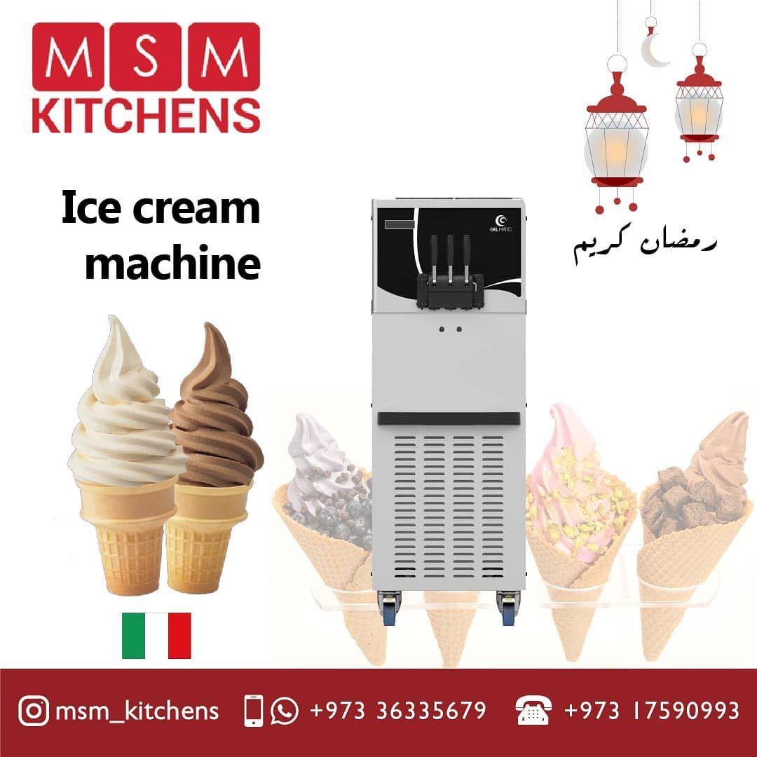 Gelmatic Ice Cream Machine Made In Italy مكينة ايسكريم صناعة ايطالية Gelmatic Icecream Chocolate Strawberry Vanil Instagram Posts Instagram Ice Cream