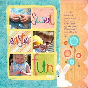Sweet Easter Page