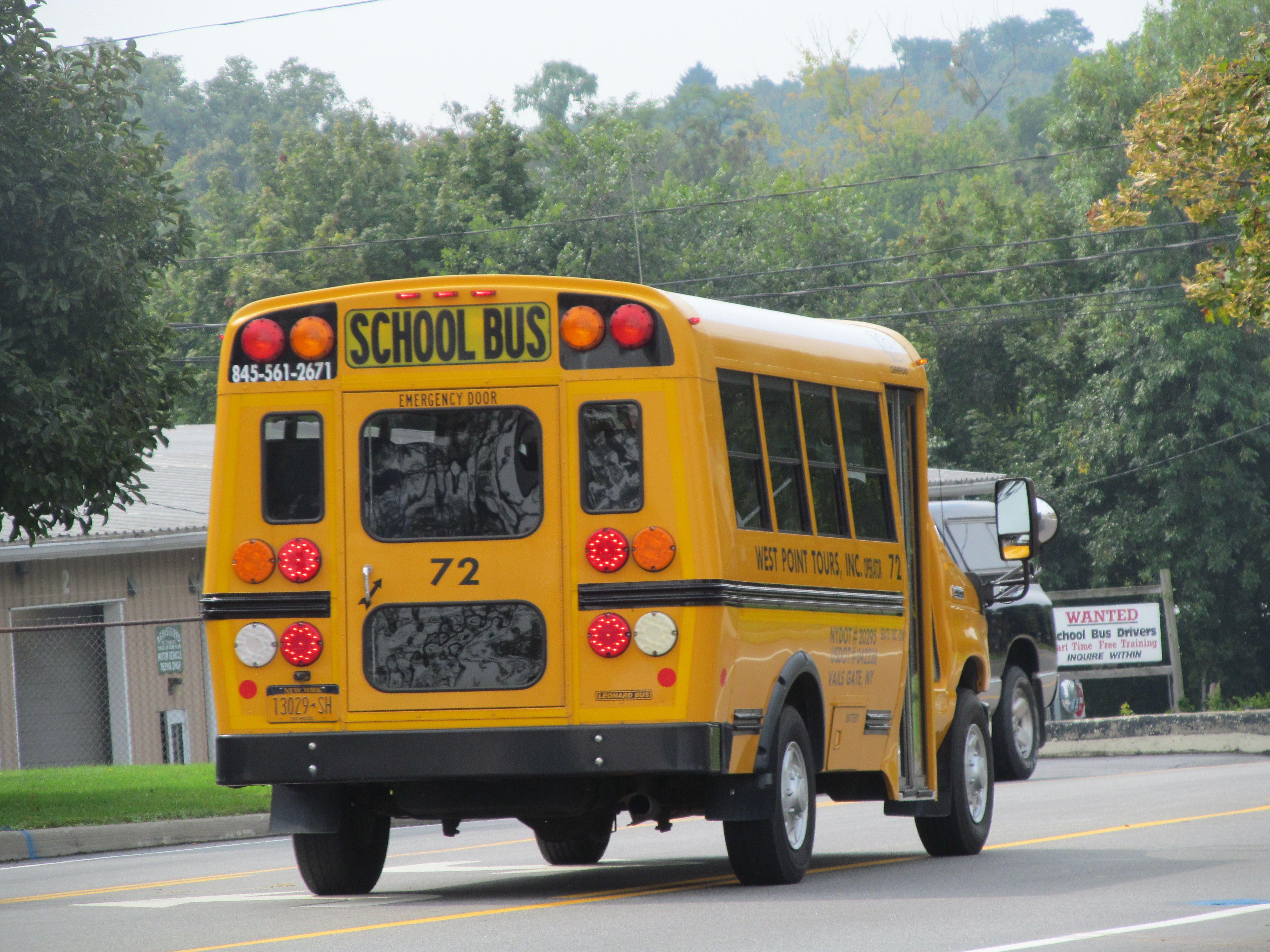 West Point Tours 72 Short School Bus