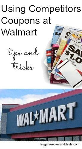 how to use competitor coupons at walmart
