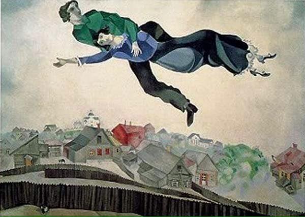 Marc Chagall Au Dessus De La Ville 1924 Met Afbeeldingen