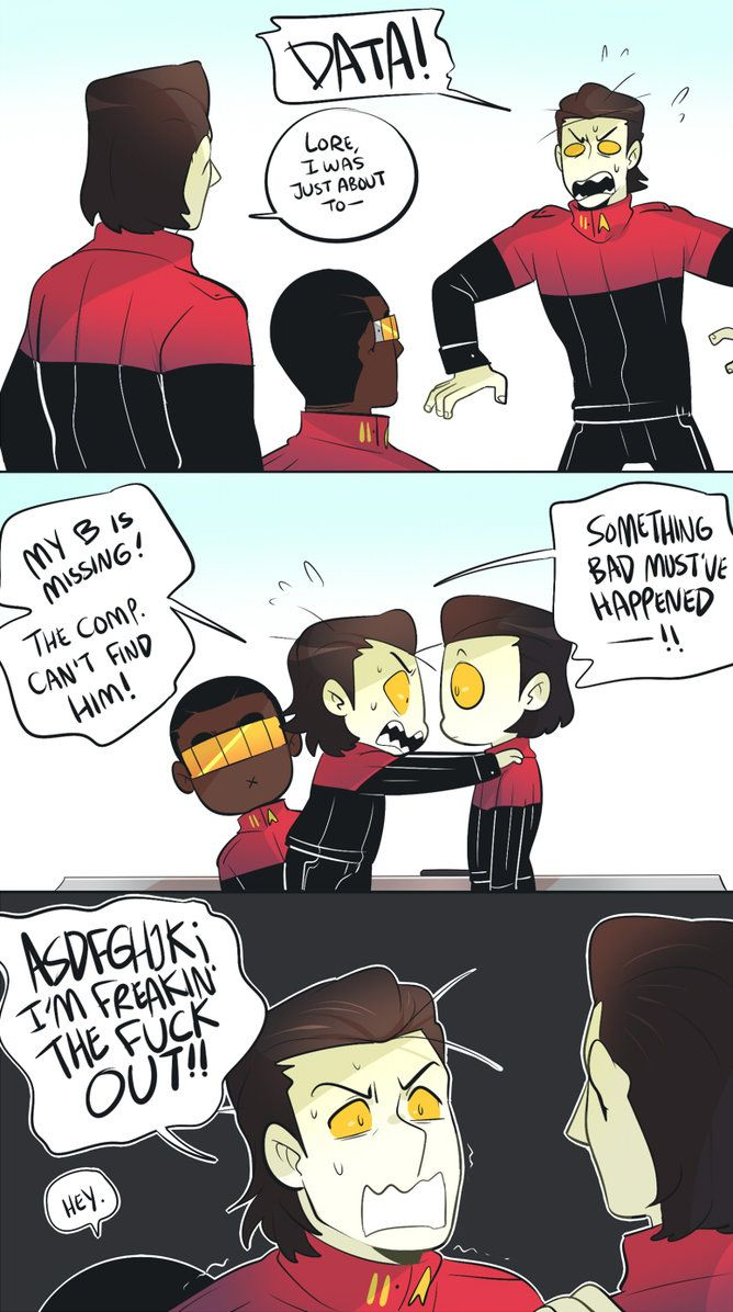 Cadets AU: Freakinout by MooseFroos | Star Trek | Pinterest